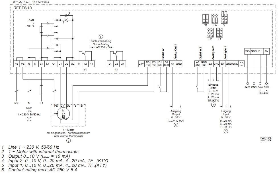 Однофазные цифровые регуляторы