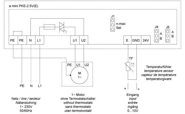 Схема подключения пке 222